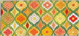 """Bringing Order Out of Chaos – """"Planning"""" a Scrap Bag Bargello"""
