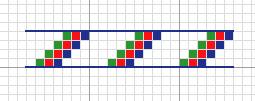 Bath Mosaic Needlepoint – Borders 2
