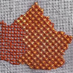 Fall Needlepoint – Leaves Three Ways