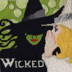 wicked needlepoint stitch guide by Janet Perry
