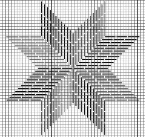 Eight-point Star – Project for Trying Threads & Colors