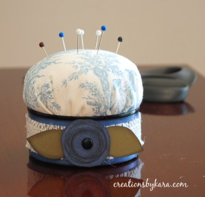 Thrifty Finishing Idea – Recycled Tuna Can Pincushion