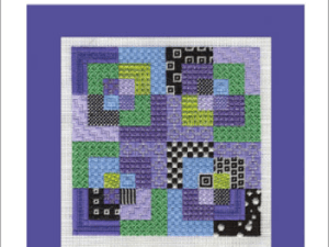 Colorful Charted Needlepoint