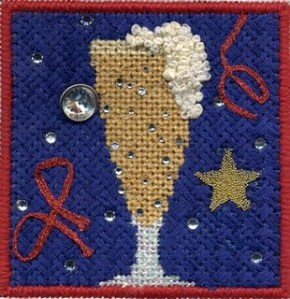 beer coaster free needlepoint stitch guide by needlepoint expert janet m. perry