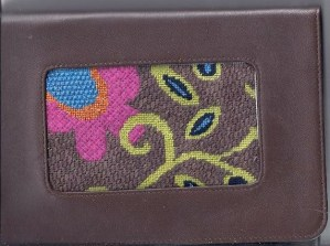 needlepoint kindle cover