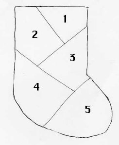PotPourri I – Learn-a-Stitch Mini-sock