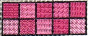 beginning needlepoint stitch sampler designed by needlepoint expert janet m. perry