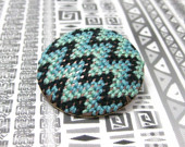 Needlepoint Pins Pack Lots of Pattern into a Tiny Space