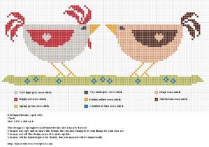 Free Design – Delightful Chickens