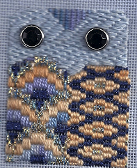 Bargello Needlepoint Learn-a-Stitch free project, designed by needlepoint expert Janet M. Perry