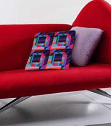 Pop Art Inspired Pillow Free Design