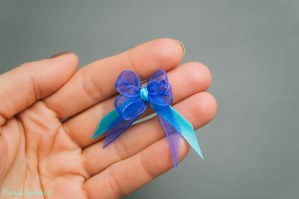 Use a Fork to Make this Tiny Bow
