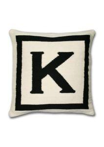 How to Make a Designer-Inspired Monogram Pillow