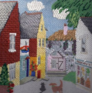 Copyright and Stitching a Building