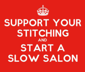Slow Down your Stitching