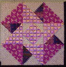 Jubilee Needlepoint Sampler – Diaper Patterns
