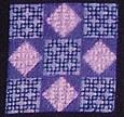 Jubilee Needlepoint Free Pattern in Blackwork