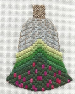 Bargello Bells Free Needlepoint Project