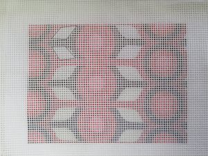 needlepoint canvas ready to paint