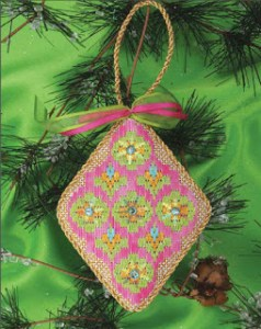 Changing Colors in Geometric Needlepoint