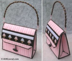 Free Ice Cream Purse Pattern