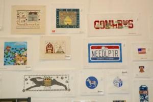 ohio-theme needlepoint