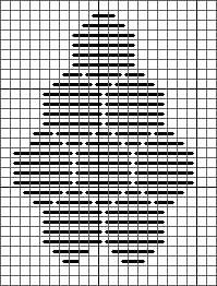giant ming needlepoint stitch diagram