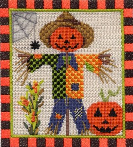 Kelly Clark Scarecrow canvas