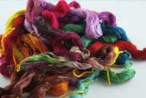 hand-dyed floss