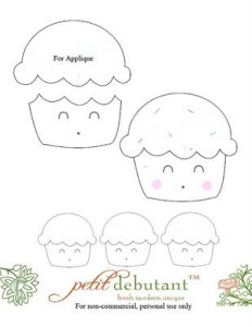 Kawaii (or not) Cupcake –Free Needlepoint Project