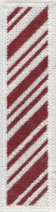 PEPPERMINT STICK NEEDLEPOINT