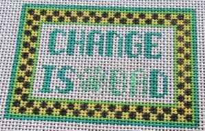 change needlepoint canvas with changes
