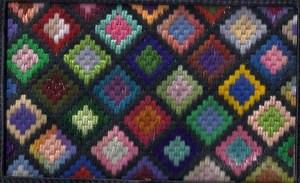 Nan's Afghan Scrap Bag Needlepoint