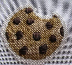 Chocolate Chip Needlepoint Cookies