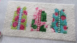Two Sisters shift needlepoint canvas