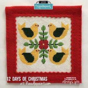 Free 12 Days Stitch Guides
