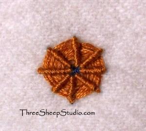 Spider Web Stitch Tutorial