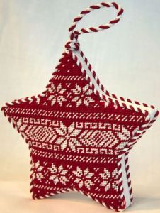 Make a Nordic-inspired Star Ornament