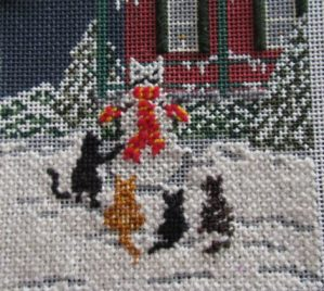 Stitching the Cats