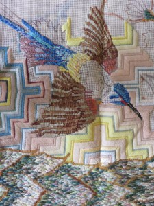 Reflection on Vintage Needlepoint