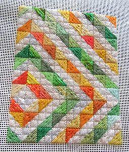 jonquil needlepoint quilt portrait