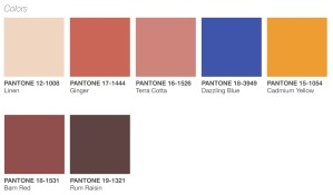 Color Palette for Spring 2019 Announced