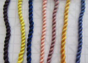 luminesence silk thread