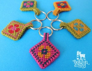 Use Scraps to Make Great Key Rings