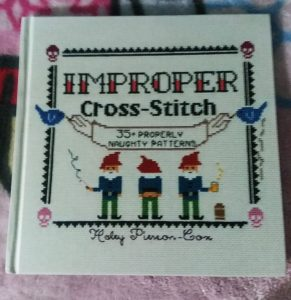 improper cross stitch book