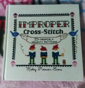 improper cross stitch book