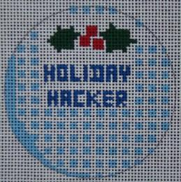 golf ball ornament needlepoint