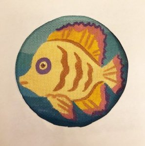 JulieMar fish needlepoint