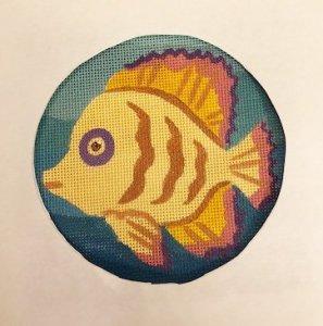 JulieMar fish needlepoint
