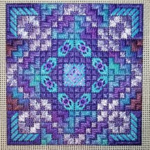 Geometric Needlepoint Eye Candy